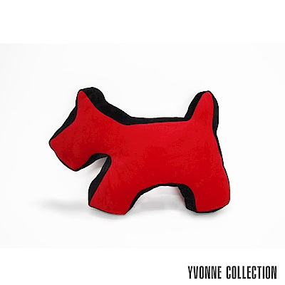 Yvonne-Collection-雙色拼接立體狗