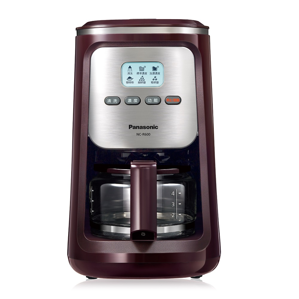 Panasonic 國際牌 4人份研磨咖啡機 NC-R600