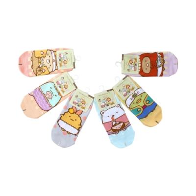 女童及青少女襪子(隨機3雙一組) 台灣製角落小夥伴授權正版直版襪  k61206 魔法Baby