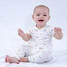 【Deux Filles有機棉】初生嬰幼兒四季棉褲-狐狸印花