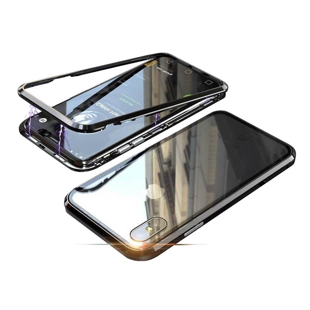 BOTYE萬磁王系列 iPhone XS Max 6.5吋 航空鋁合金+玻璃保護殼