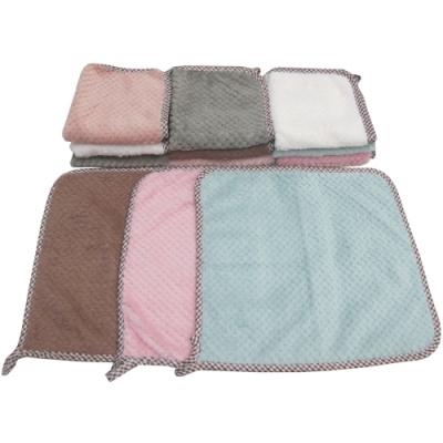 月陽超值12入加厚超細珊瑚絨靜電抹布洗碗巾擦車洗車巾(242312)顏色隨機出貨