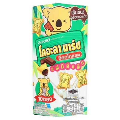 KOALA MARSH 浣熊造形餅-巧克力餡 (一盒10包)