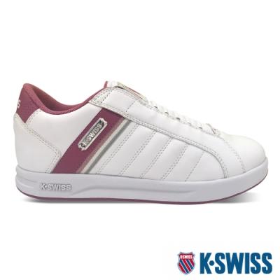 K-SWISS Lundahl Slip-On S CMF鞋套式運動鞋-女-白/莓紅