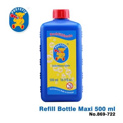 【德國Pustefix】魔法泡泡水補充液500ml (藍瓶) - 869-722