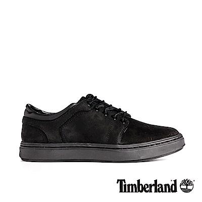 Timberland 女款黑色麂皮低筒休閒鞋