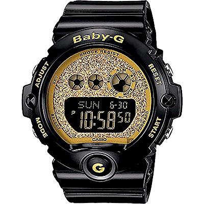 Baby-G 經典率性運動錶-金x黑(BG-6900SG-1)