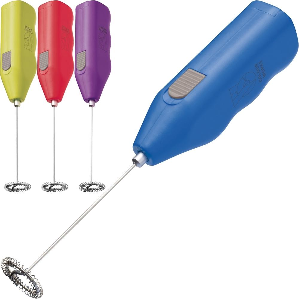 《KitchenCraft》Colourworks電動奶泡器