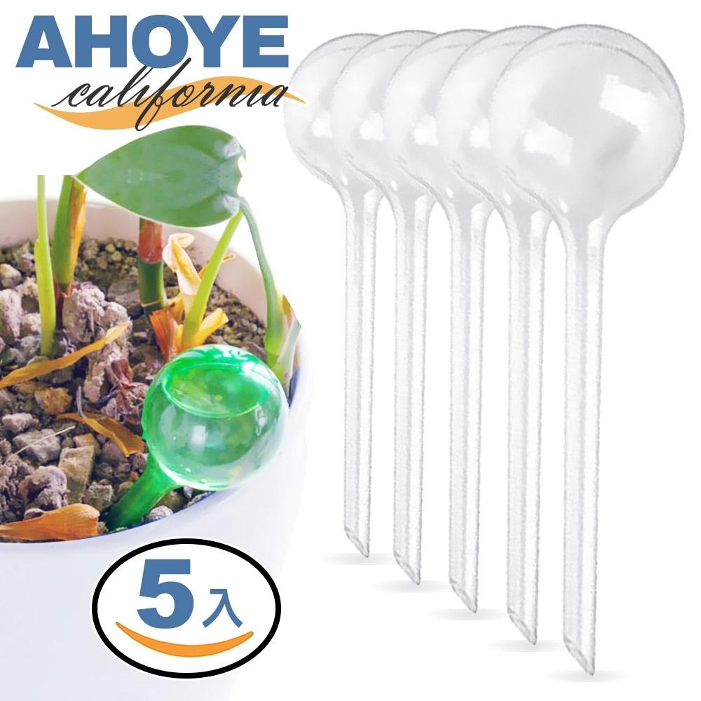 Ahoye 滴灌自動澆花器 5支入 滲水滴灌 盆栽 園藝 澆水器