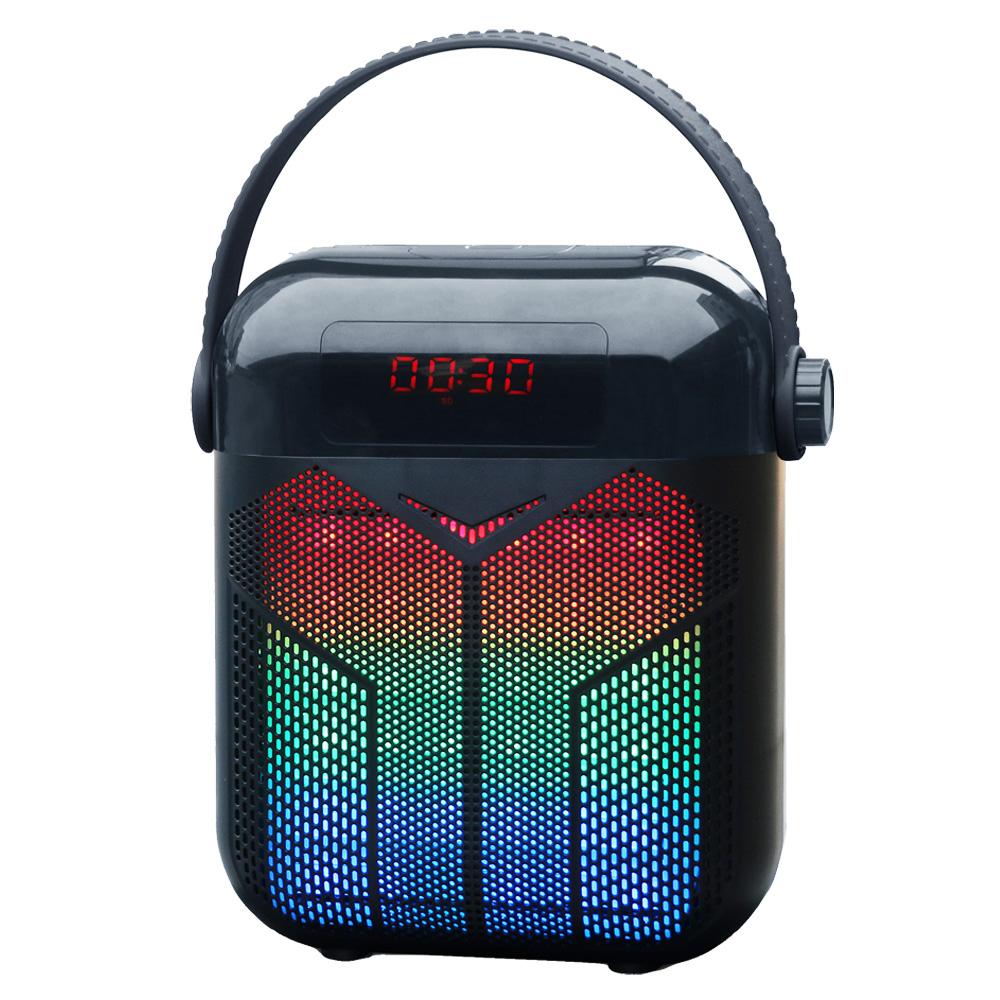 大聲公巧福型無線式多功能手提行動音箱/喇叭 (手持+耳掛麥克風組)