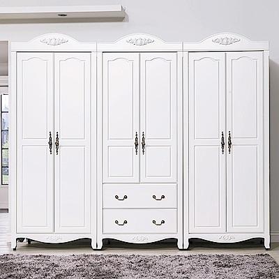 AS-莉蒂亞鄉村8尺衣櫥-243x58x211cm