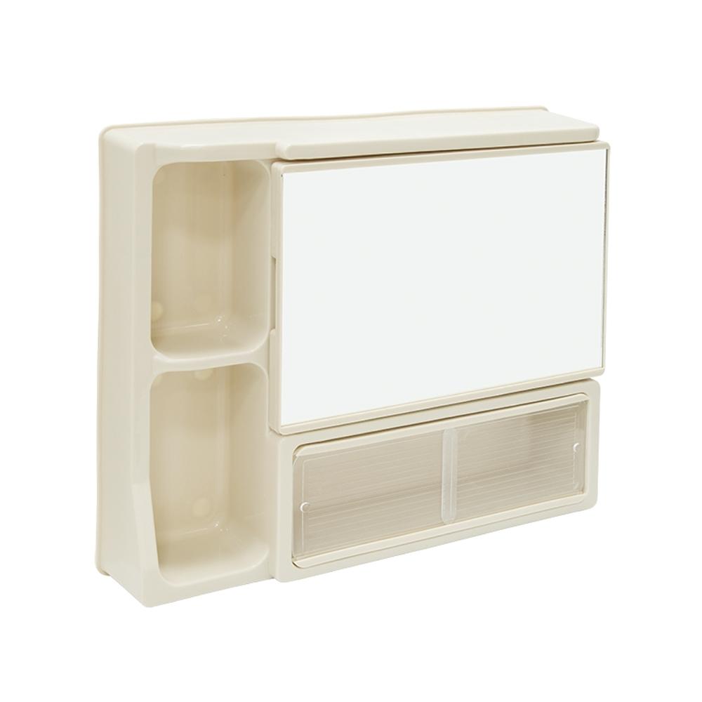 泰家 簡約浴室壁式收納浴鏡