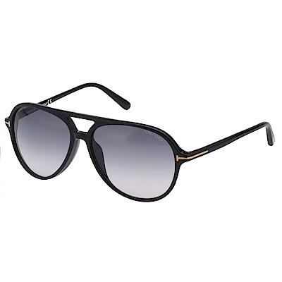 TOM FORD 雷朋型 太陽眼鏡-黑色-TF9331