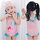 小衣衫童裝  可愛粉色小豬連體泳衣1060509 product thumbnail 1