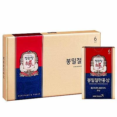 (時時樂下殺)正官庄 蜂蜜切片(6包/盒)