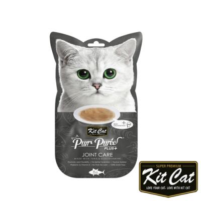 Kitcat呼嚕嚕肉泥-關節保健配方(鮪魚) 60g 貓零食 貓肉條 貓肉泥 化毛 牛磺酸 保健零食