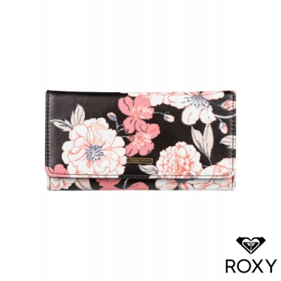 【ROXY】MY LONG EYES PRINTED 長夾 黑