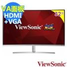 ViewSonic VX3216-SCMH 32型VA曲面螢幕