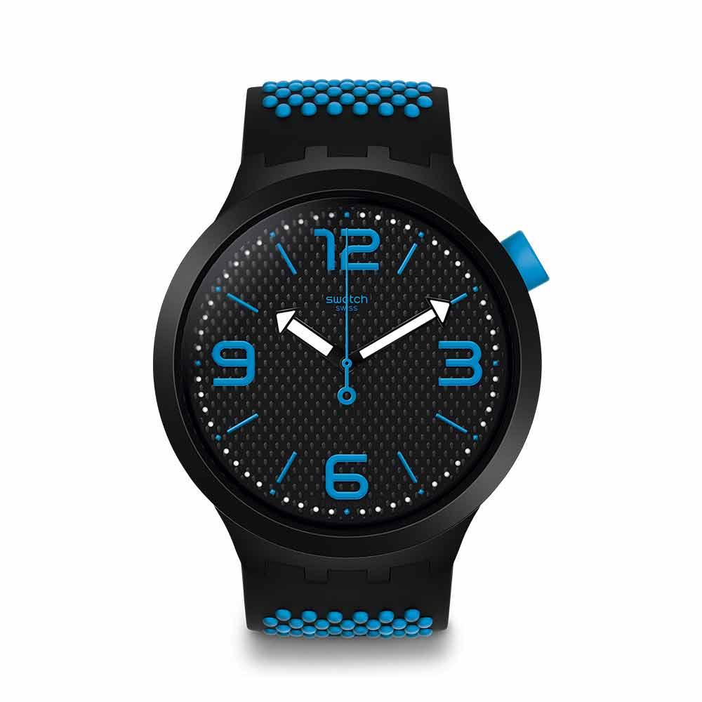 Swatch Big Bold 系列手錶 BBBLUE 藍色 - 47mm