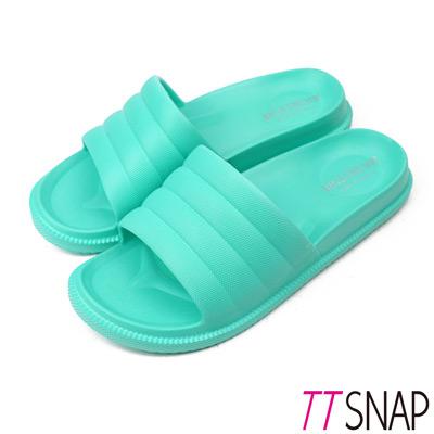 TTSNAP拖鞋-MIT輕量室內舒適居家拖鞋 綠