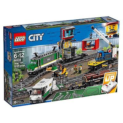 【LEGO樂高】城市系列 60198 貨運列車
