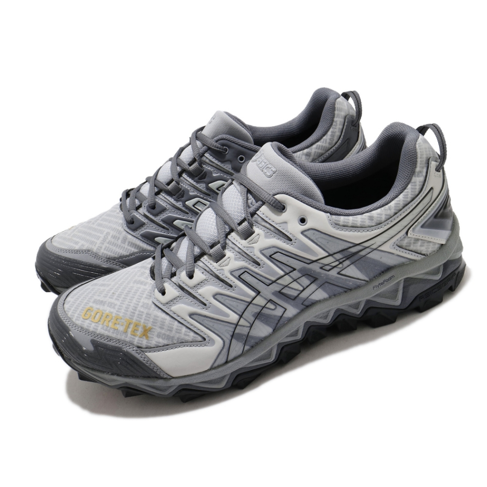 Asics 慢跑鞋 Gel FujiTrabuco 7 男鞋 Beams聯名款 支撐型 野跑鞋 亞瑟膠 灰 白 1021A250025