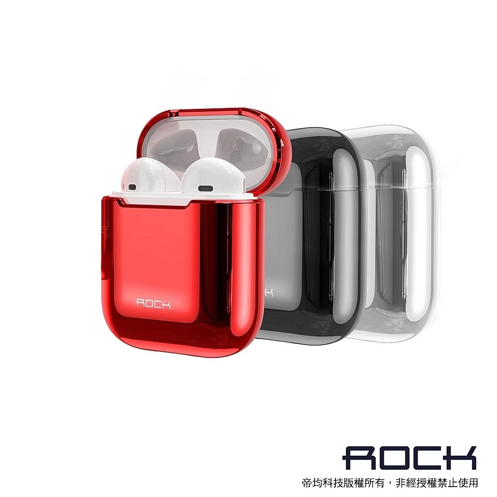 ROCK Apple 一代/二代 AirPods 電鍍保護殼