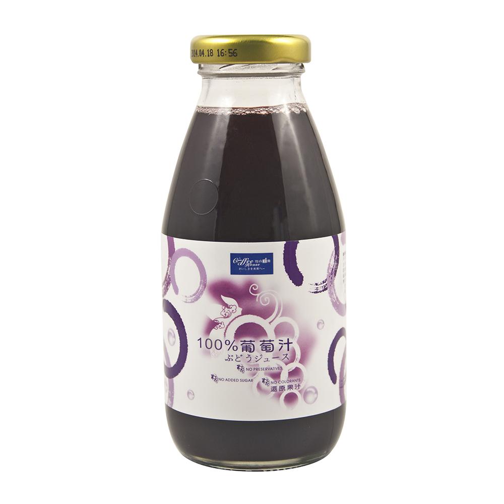 珈的工房 100%葡萄汁 (300ml*24入)