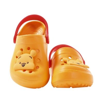 魔法Baby台灣製迪士尼小熊維尼正版輕量水陸晴雨休閒鞋sd3036