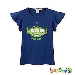 bossini女童-玩具總動員亮片造型上衣-三眼
