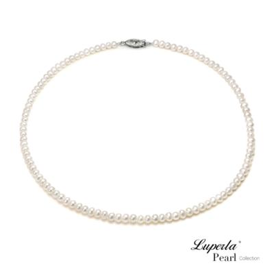 大東山珠寶 輕時尚淡水珍珠項鍊 純白色