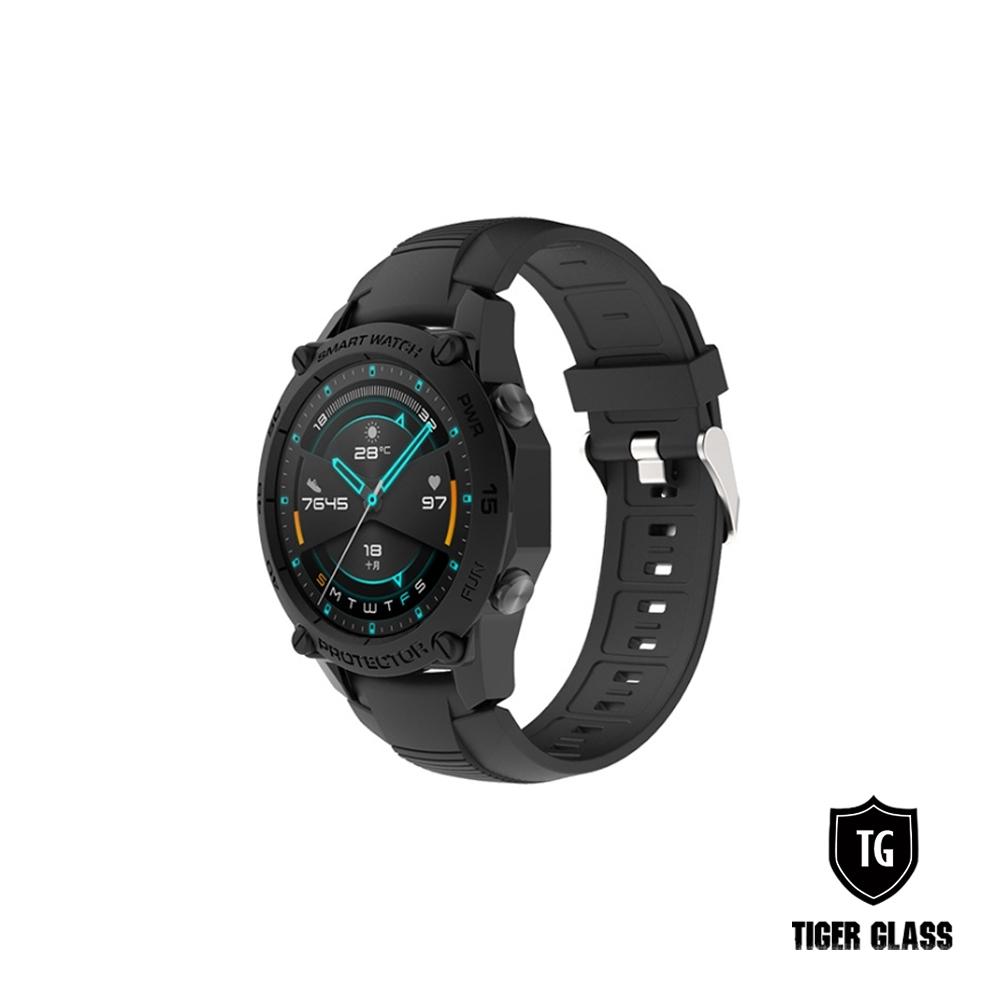 T.G 華為 WATCH GT2 46mm 運動款全包覆保護殼-4色(華為專用保護殼 手錶殼 錶殼)