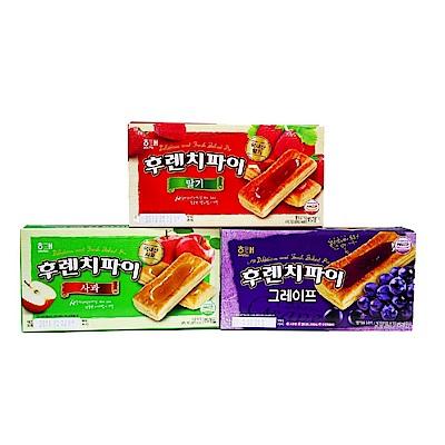 韓國Haitai 海太千層酥-蘋果/草莓/葡萄(192g)x6盒 口味任選