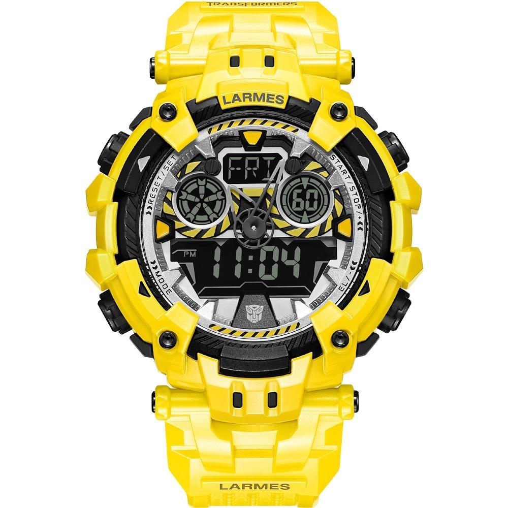 Transformers 變形金剛 聯名限量潮流腕錶(大黃蜂) LM-TF001.BB16G.12S.6GB
