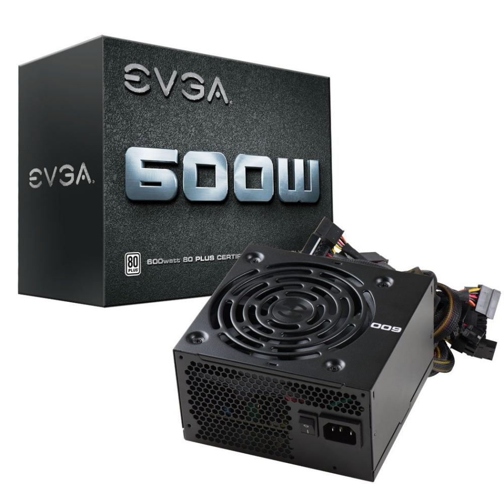EVGA 艾維克 W1 600W 電源供應器 入門首選 三年保固