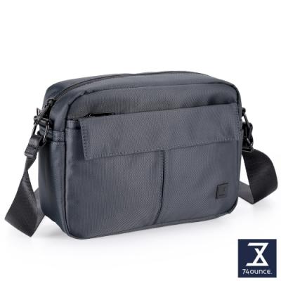 74盎司 U系列 單層雙口袋側背包[G-1041-U-M]藍