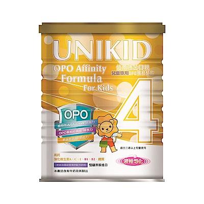UNIKID佑爾康金貝親 兒童專用OPO親和配方(4號)900g(6入)送1罐