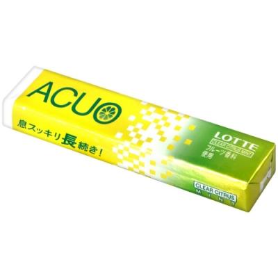 Lotte ACUO柑橘薄荷風味口香糖(20g)