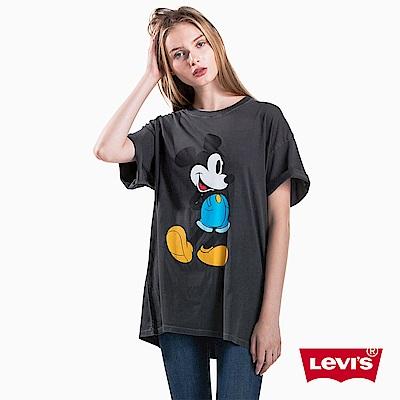 Levis x MICKEY聯名 長版TEE 黑色
