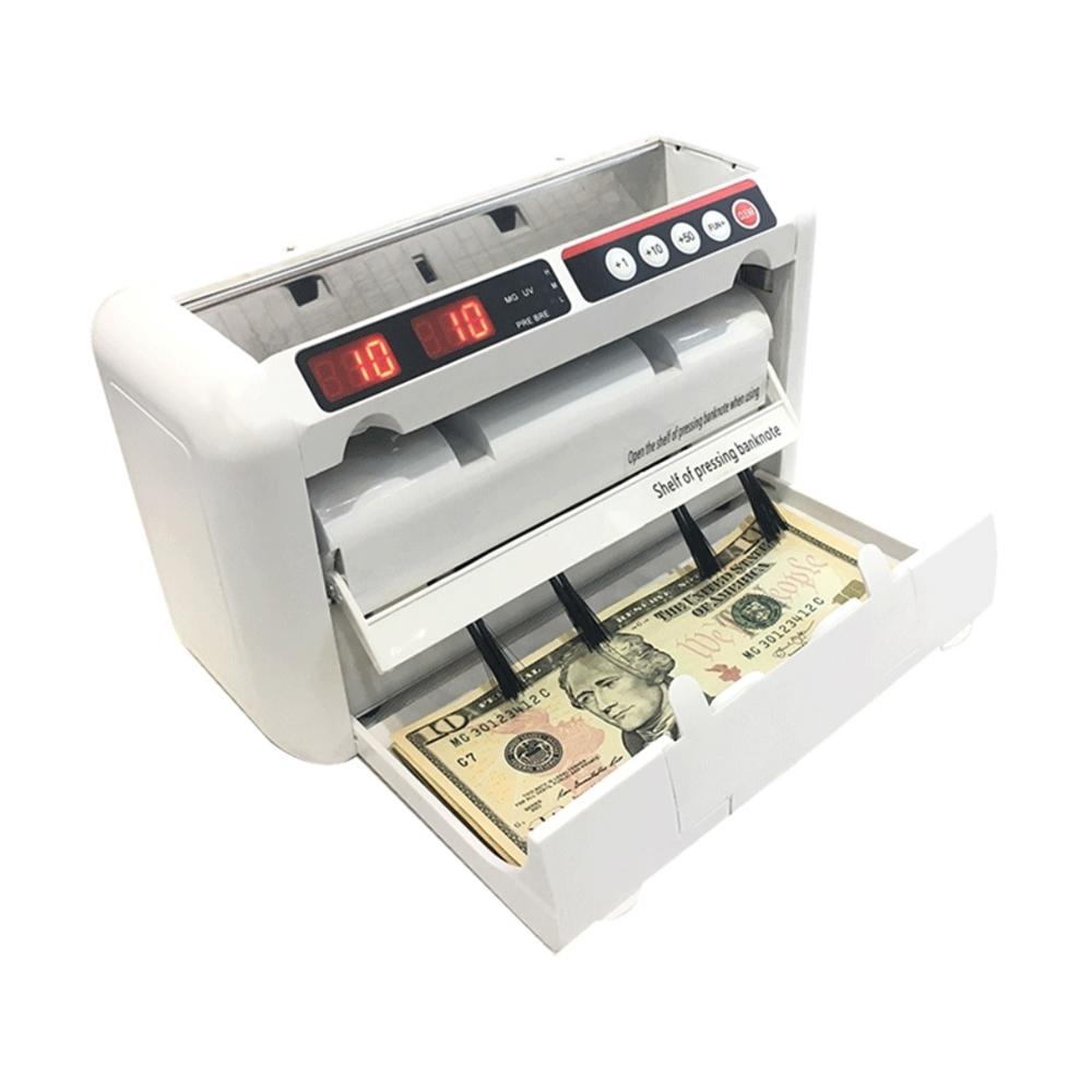 [時時樂限定]便攜式多國貨幣點鈔機驗鈔機 可充電插電