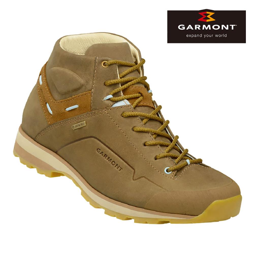 GARMONT 女款Gore-Tex中筒休閒旅遊鞋Miguasha 米色