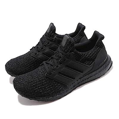 adidas 慢跑鞋 UltraBOOST 黑魂 男鞋