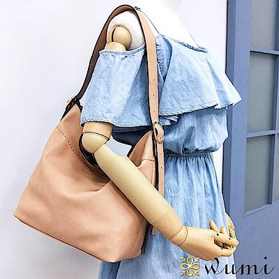 WuMi 無米 夏洛特率性水桶包 裸膚粉