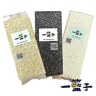 一籃子 白河健康好米組(白米*1+紫米*1+糙米*1)