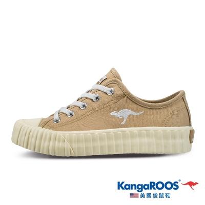 KangaROOS 童 CRUST 甜點手工餅乾鞋(卡其-KK11901)