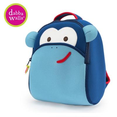 美國Dabbawalla 美國瓦拉包 3-8歲 小童後背包- 藍色猴子