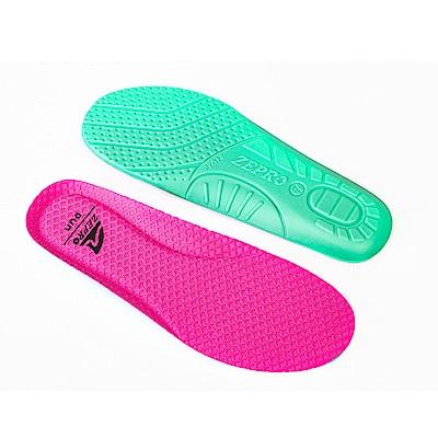 【ZEPRO】女款緩震透氣機能鞋墊-桃紅