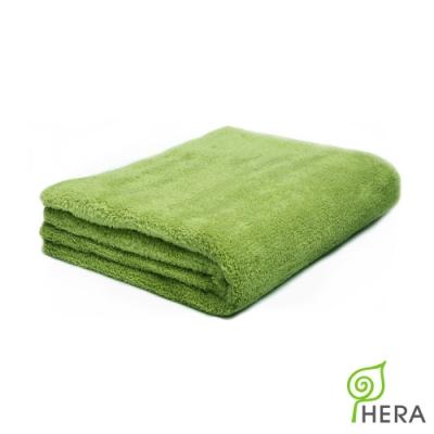 HERA 3M專利瞬吸快乾抗菌超柔纖-多功能毯-香草綠