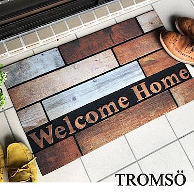 TROMSO戶外植絨橡膠厚實刮泥地墊(大)-原木之家