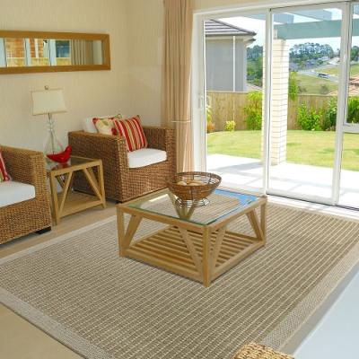 Ambience 比利時Hampton 平織地毯 #90010米色(133x195cm)